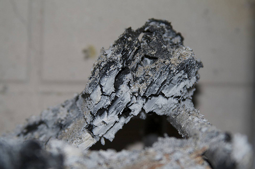 Wood ash for lye